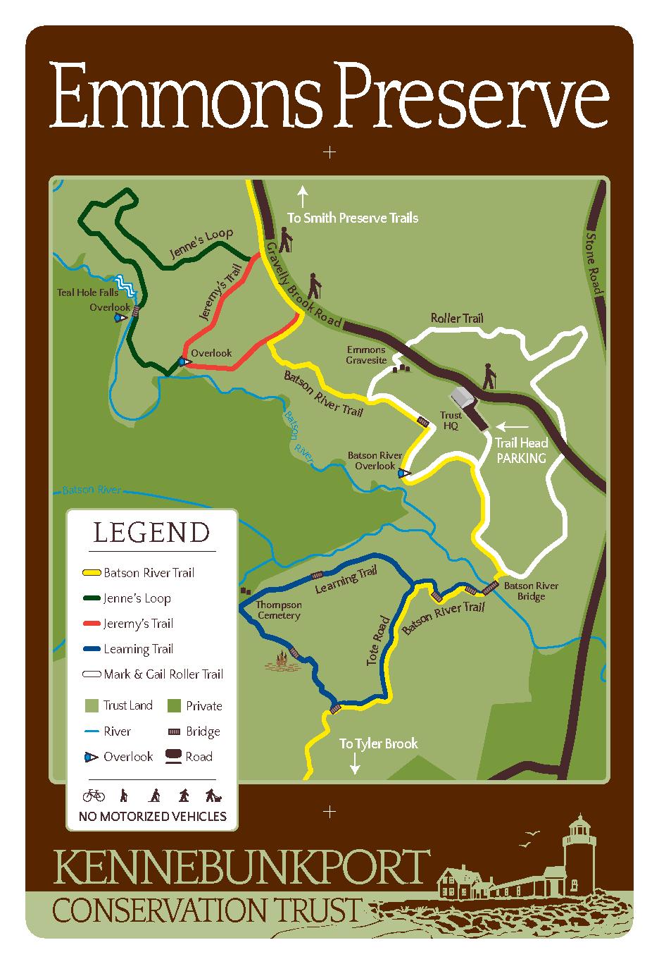 Emmons Preserve Map
