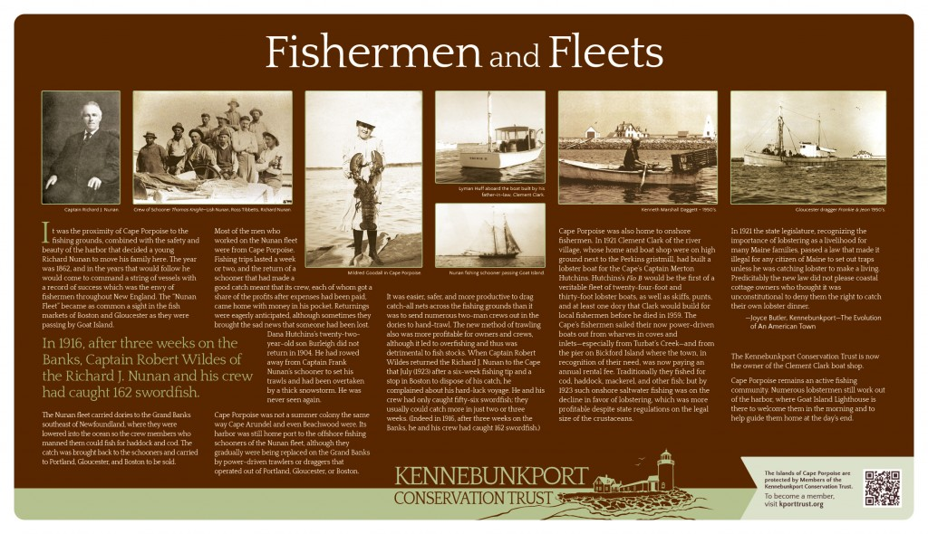 Fishermen and Fleets Sign
