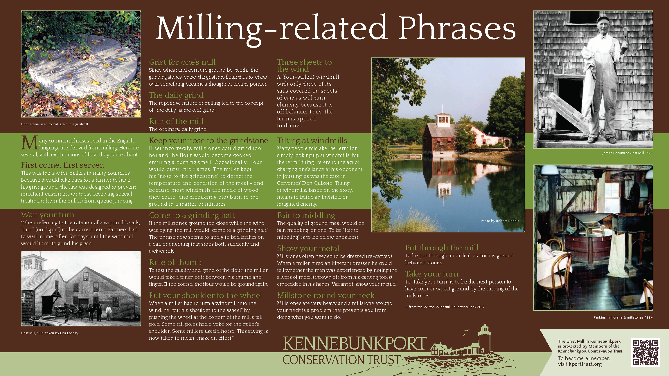 Milling Related Phrases