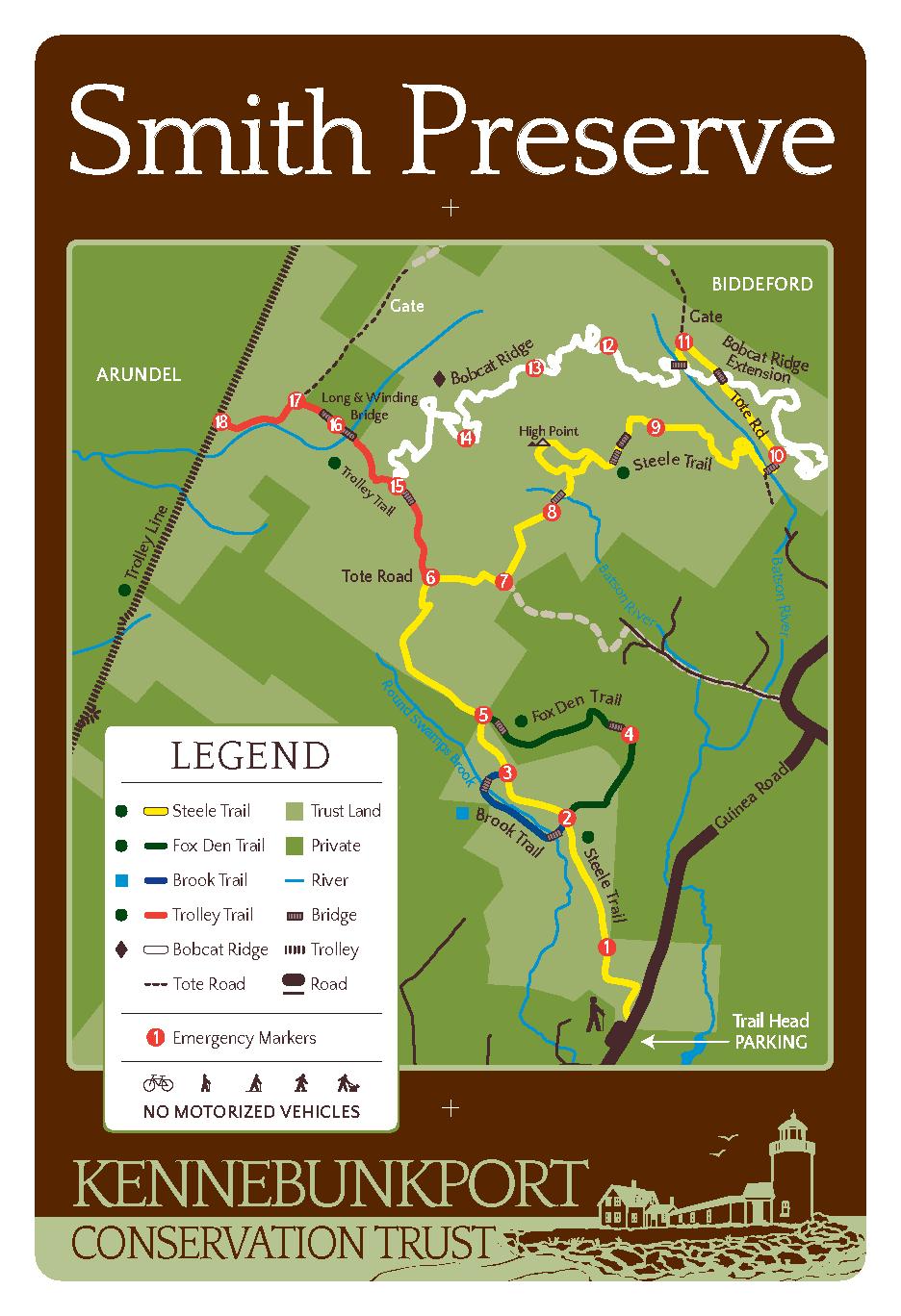 Smith Preserve Map