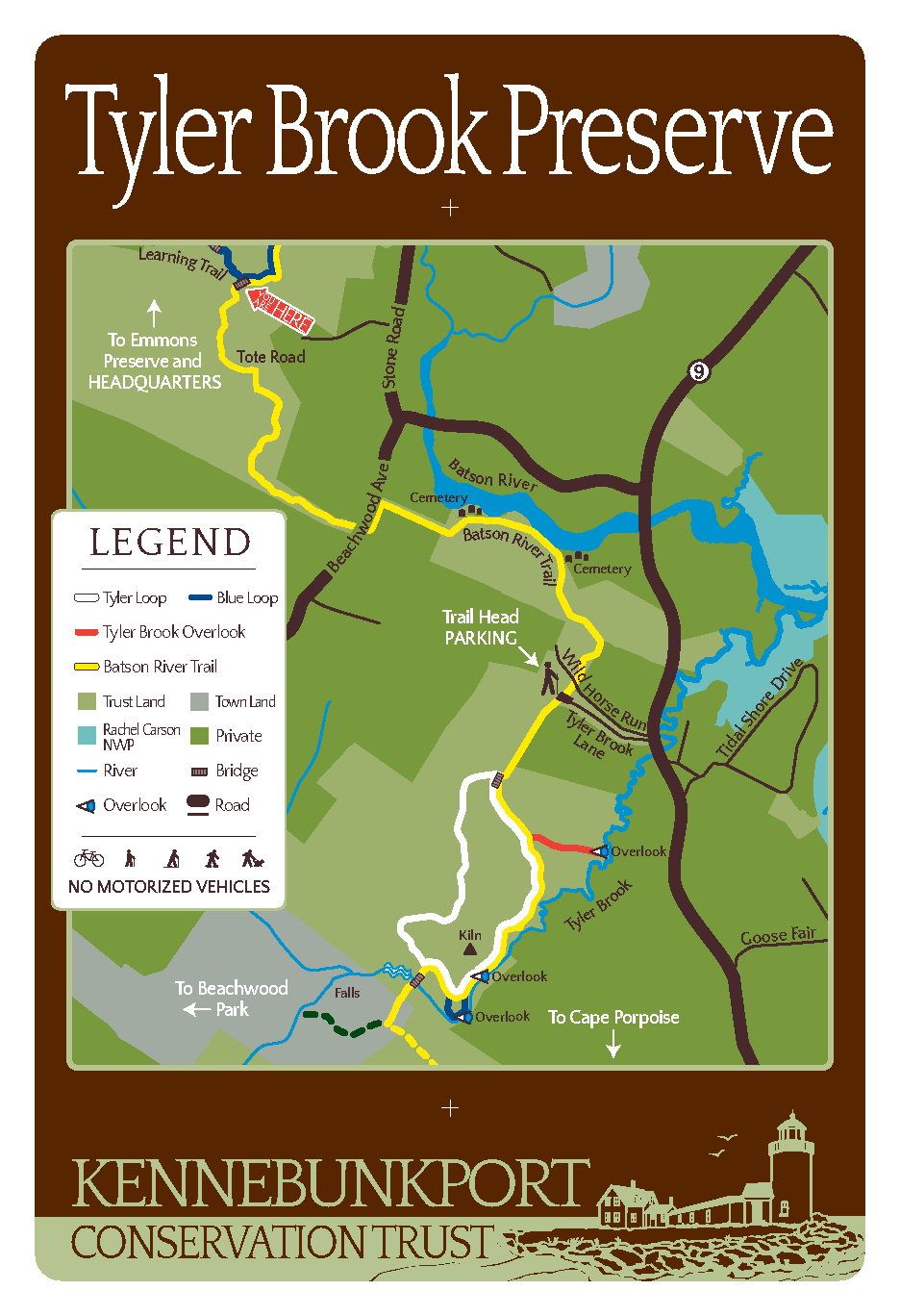 Tyler Brook Map