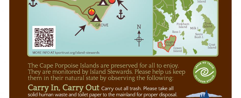 Vaughn Island Sign